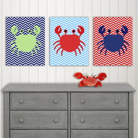 baby boy nautical nursery canvas prints