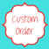 Custom Listing for Katie | Birth Stats Digital File