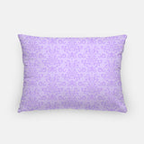 Purple Damask Throw Pillow | Nursery Pillow Cover | Choose Size | Square or Rectangle