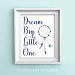 dream big little one tribal nursery print