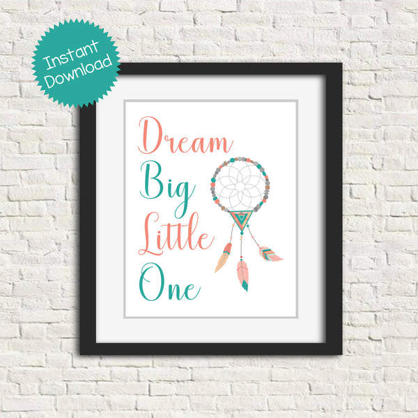 printable boho tribal nursery art
