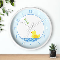 duck nursery clock