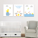 duck nursery art