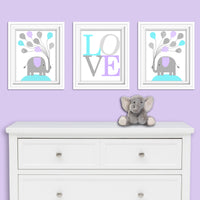 elephant baby girl art prints