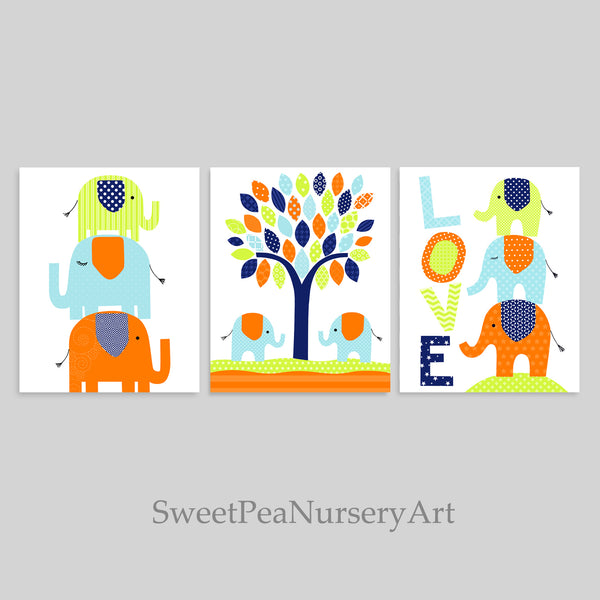 elephant nursery decor