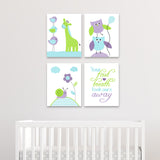 baby girl nursery art prints on canvas