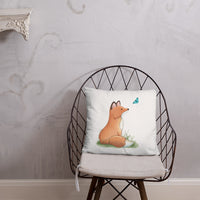 fox nursery pillow
