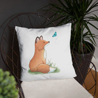Fox Nursery Pillow | Woodland Nursery Pillow | Woodland Animal Decor | Fox Throw Pillow | Fox Pillow