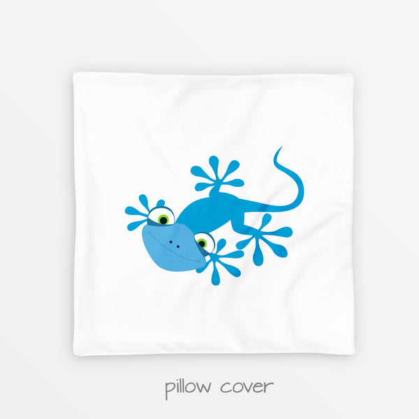 lizard pillow cover