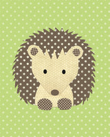 hedgehog baby decor
