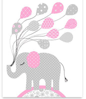 Girl's Room Decor, Nursery Wall Art, Elephant Nursery, Giraffe Nursery, Baby Girl, Baby Room Decor, Nursery Canvas, Nursery Prints, Toddler
