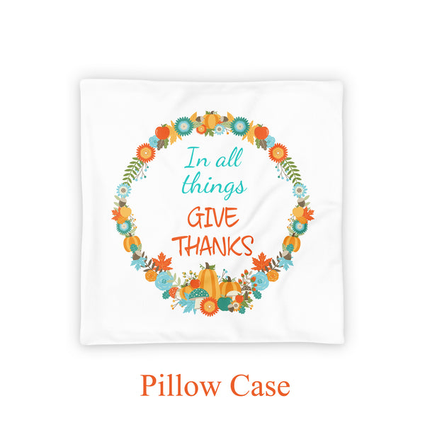 fall pillow cover