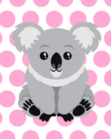 printable koala wall art