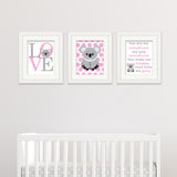 koala baby decor to print yourself
