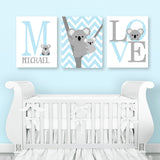 koala baby boy canvas decor