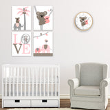 lambs and ivy calypso nursery decor