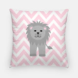 lion nursery pillow