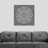 mandala wall decor