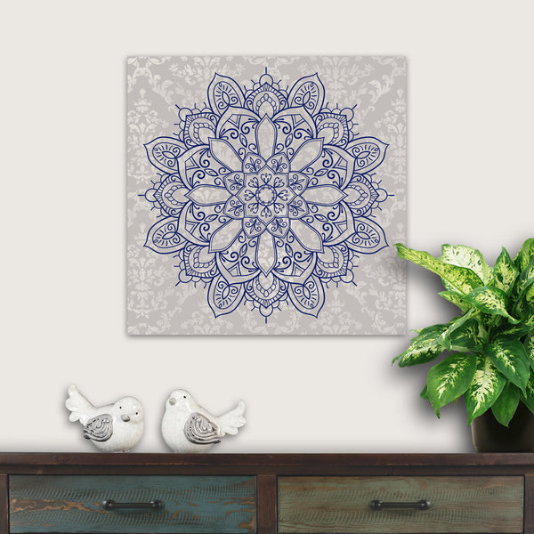 mandala wall decor square