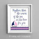 scripture nautical nursery art