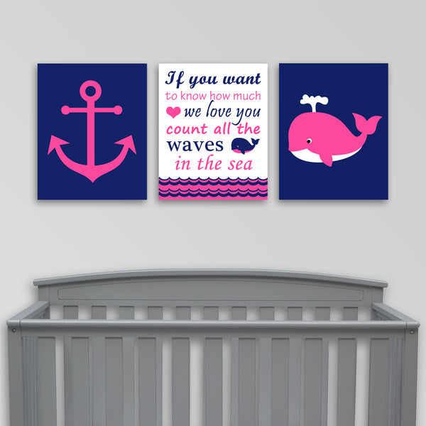 nautical nursery canvases