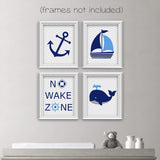 baby boy nautical nursery prints