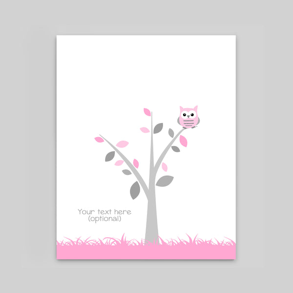 owl guest book for baby shower