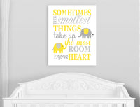 elephant canvas decor