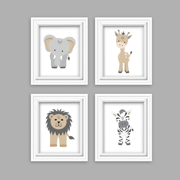 lambs and ivy jungle safari nursery prints