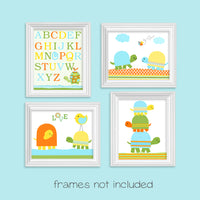 turtle nursery prints