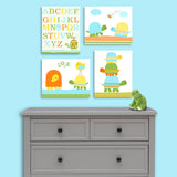 baby boy turtle canvas