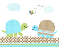 cute turtle nursery decor