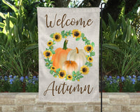 fall outdoor flag
