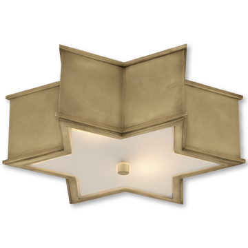 SOPHIA LARGE FLUSH MOUNT - TABBY HOME