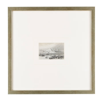 VILLIAGE FISHERY ETCHING - TABBY HOME