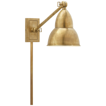 FRENCH LIBRARY SINGLE ARM WALL LAMP - TABBY HOME