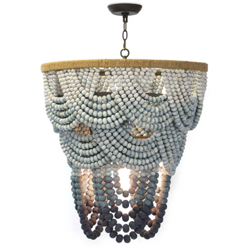 BAGATELLE WOOD CHANDELIER - TABBY HOME