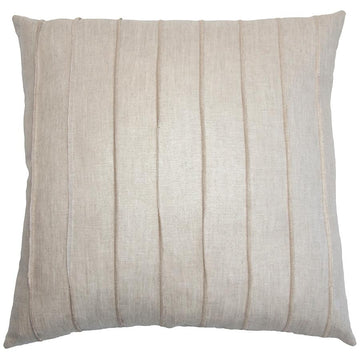 LINEN BAND PILLOW - TABBY HOME