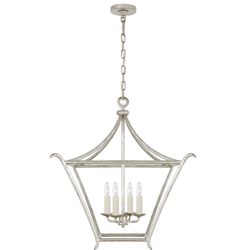 ARIA MEDIUM SQUARE LANTERN - TABBY HOME