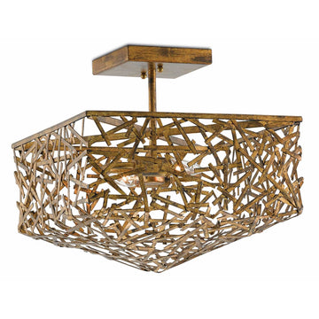 SOIREE SEMI-FLUSH FIXTURE - TABBY HOME