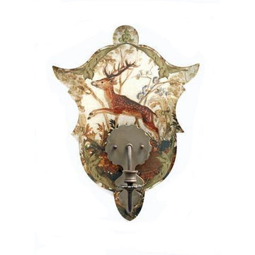 STAG SHIELD SCONCE - TABBY HOME