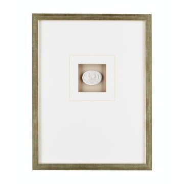 CHATHAM FRAMED INTAGLIO WITH TAUPE MAT