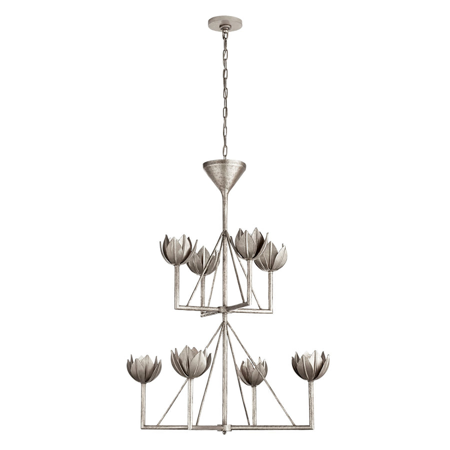 ALBERTO MEDIUM TWO TIER CHANDELIER - TABBY HOME