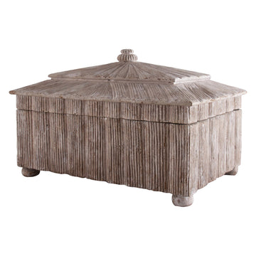 CORDGRASS JEWELRY BOX - TABBY HOME