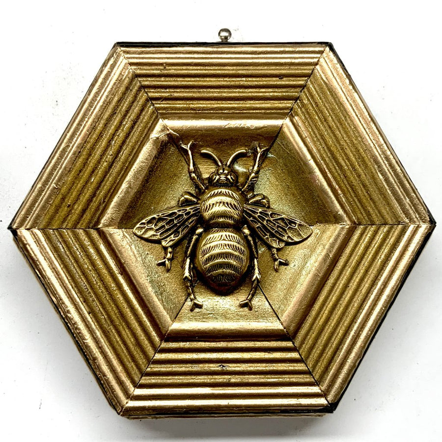 HEIRLOOM BEE- Gilt Frame with Grande Bee