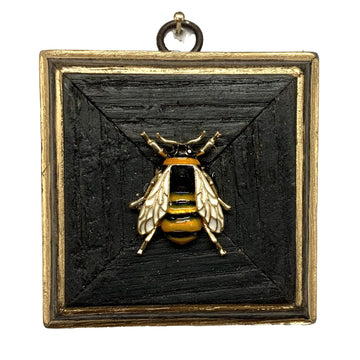 HEIRLOOM BEE - Bourbon Barrel Frame Enameled Bee