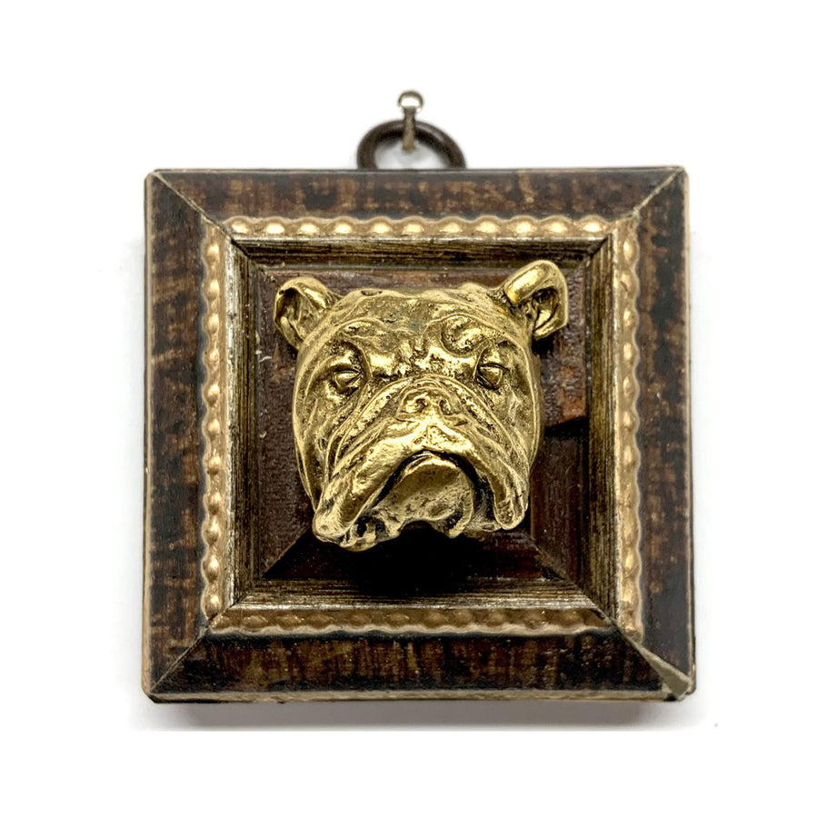 HEIRLOOM BEE - Bulldog on Burled Frame