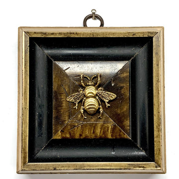 HEIRLOOM BEE - Black and Burl Frame Grande Bee