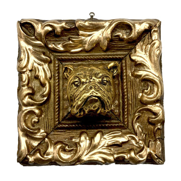 HEIRLOOM BEE - Gilt Frame Bulldog