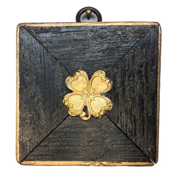 HEIRLOOM BEE - Bourbon Barrel Frame Four Leaf Clover